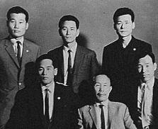 Elèves de Séoul en 1960